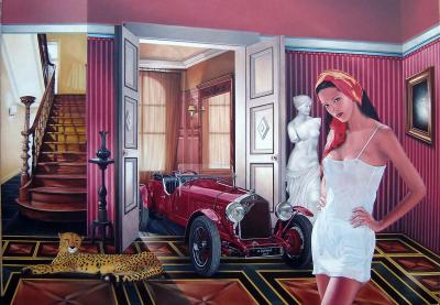 Alfa Romeo 1929 100x130 (2007) Sold