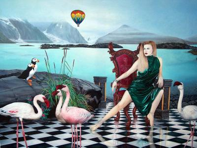 Antarctic Dreams 100x130 (2001) Sold